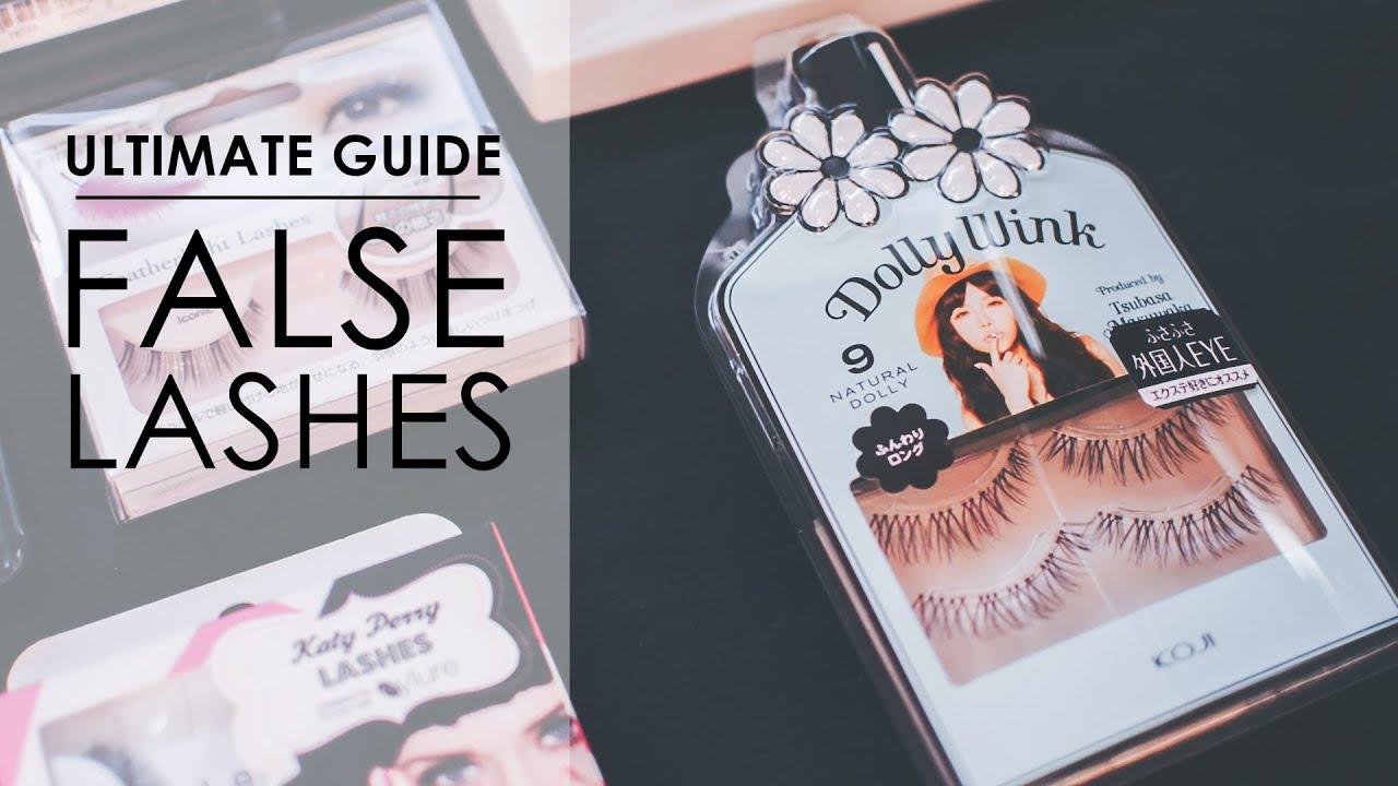 how to choose false lashes