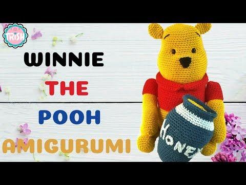 crochet pattern, winnie the pooh! | Bambole di uncinetto ... | 360x480