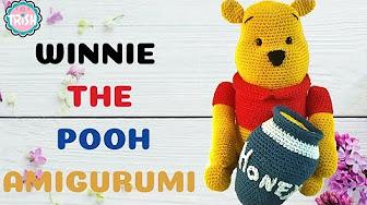 crochet pattern, winnie the pooh! | Häkeldecken muster, Disney ... | 188x336