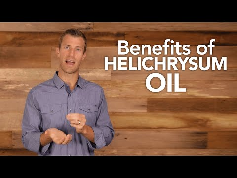 Benefits of Helichrysum Oil