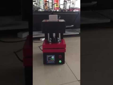 full electronic rosin heat press