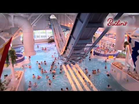 Butlins splash waterworld youtube for Bognor regis butlins swimming pool