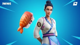 Fortnite New skins. MAKI MASTER - SHRIMPY BACKBLING
