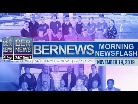 Bermuda Newsflash For Tuesday, November 19, 2019