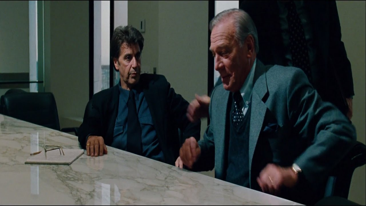 The Insider 1999 Russell Crowe Al Pacino