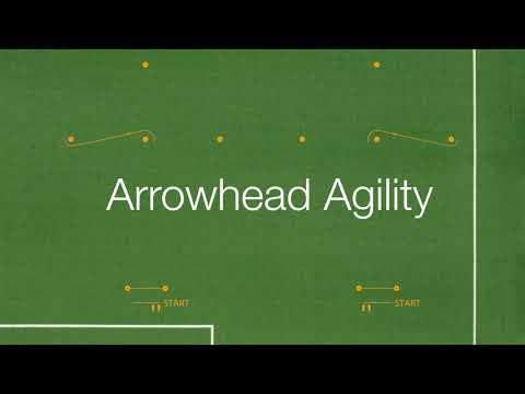 Polytan SMART - Arrowhead Agility Test