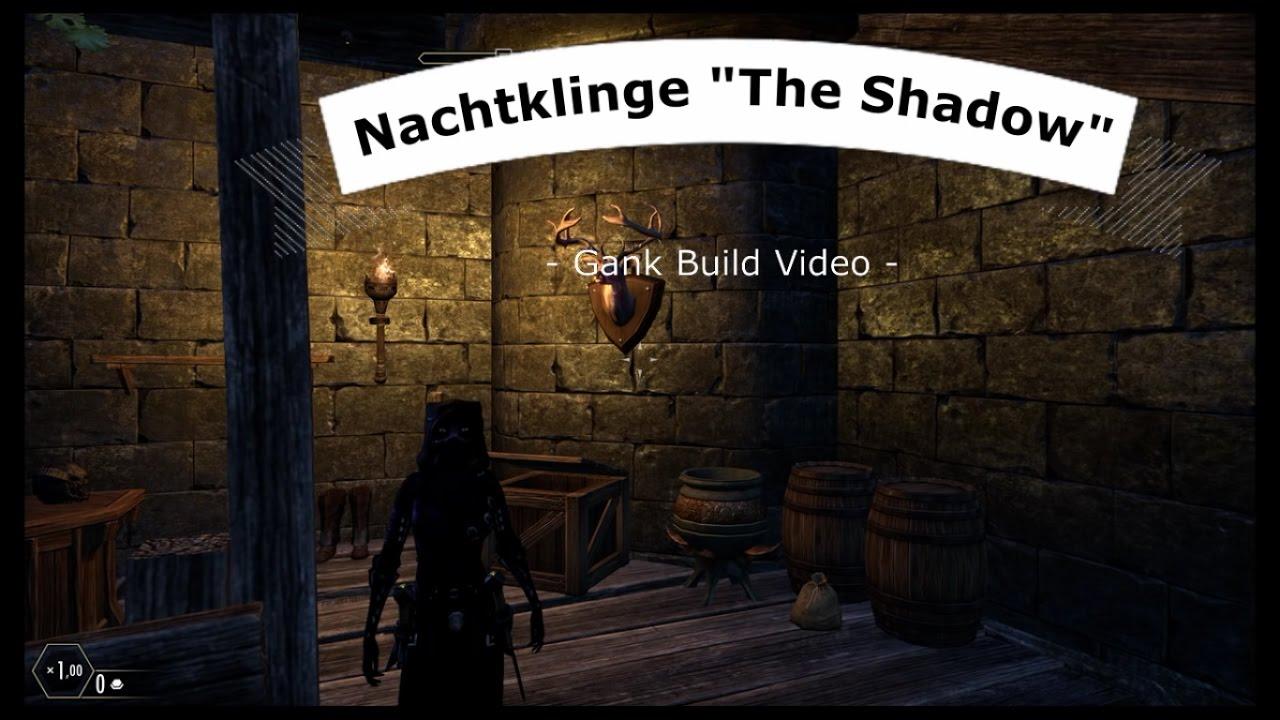 Bogen Stehle build german eso nachtklinge the shadow gank build