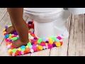 DIY American Girl Doll Bathroom RUG