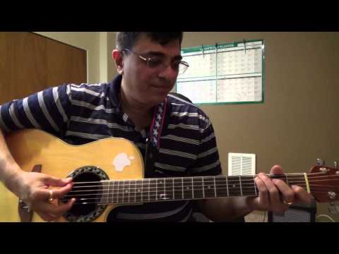Musafir hoon yaaron (music RD Burman) guitar chords and strumming lesson by Suresh