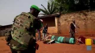 Neighborhood Destroyed - Central African Republic