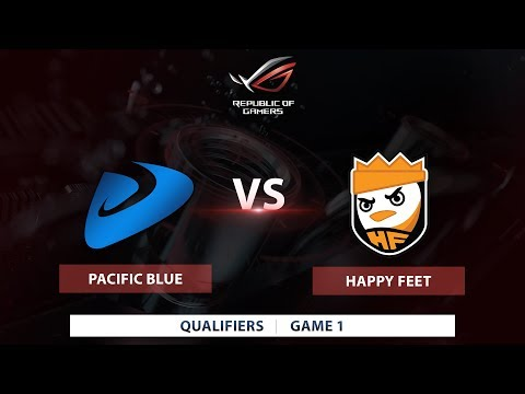 Pacific Blue vs. Happy Feet | Bo3 | ASUS ROG Masters Local Qualifiers | Game 1
