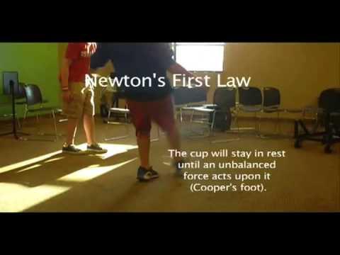 Newton's Laws Presentation Clip