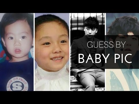 Guess the kpop idol by baby pic [Male Ver.] #1