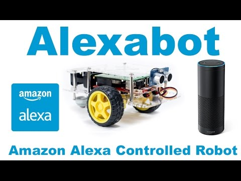 Alexabot: Amazon Alexa Controlled Robot With the Raspberry Pi - YouTube