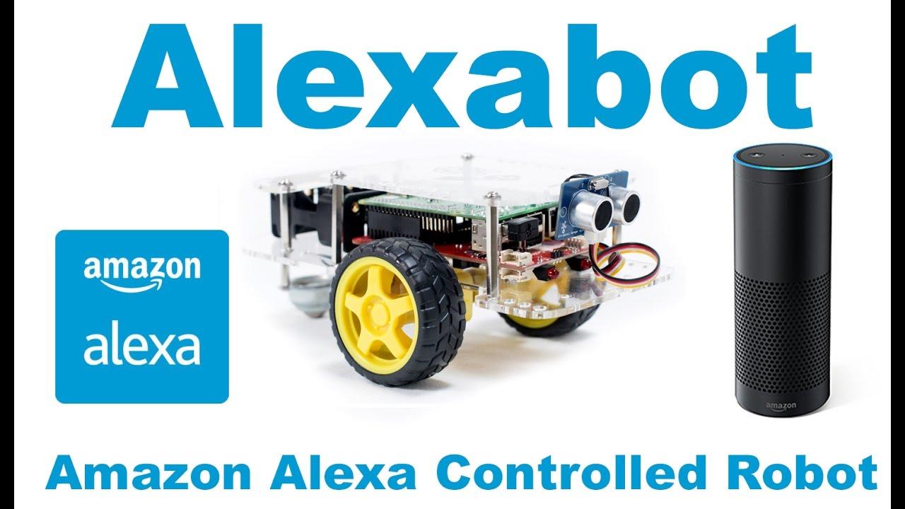 Alexabot: Amazon Alexa Controlled Robot With the Raspberry Pi: 8