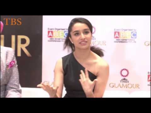 UNVEILING OF 14TH EDITION OF GLAMOUR 2015 INDIA'S LARGEST JEWELERY EXPO BY SHRADDHA KAPOOR 01 3