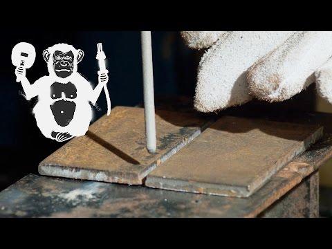 Соединение деталей сваркой, первые шаги в ручной дуговой сварке | Detail joinment -Территория сварки
