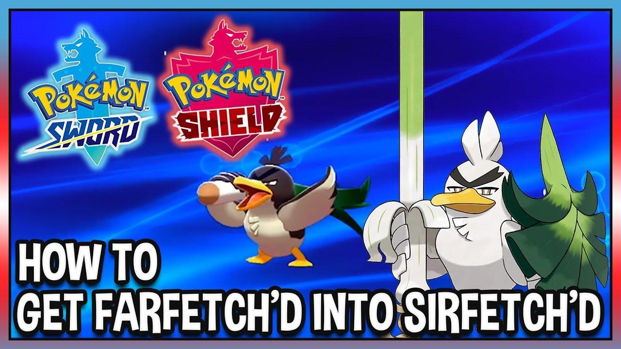 Download How to Get Farfetch'd into Sirfetch'd in Pokémon Sword and Pokémon Shield!