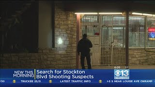 Search On For Suspects After Shooting On Stockton Boulevard