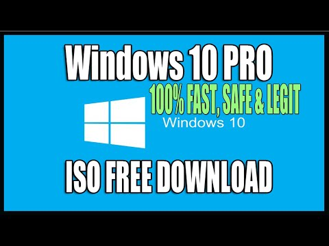 Windows 10 Pro Free Download ISO Tutorial (1903,1809,1803,1703) Without Media Creation Tool