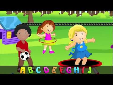 ABC Alphabet Song in HD with Lyrics - Children's Nursery Rhymes by eFlashApps