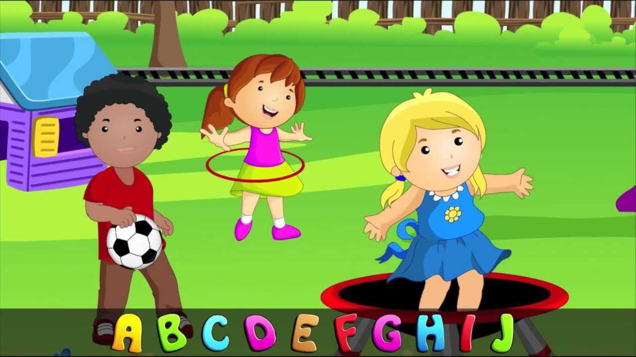 Abc Alphabet Song In Hd With Lyrics Children S Nursery Rhymes By Eflashs
