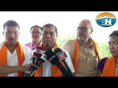 Assam Hills Area Development Minister Sum Ronghang Visits Dima Hasao