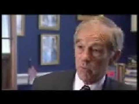 Ron Paul on Federal Reserve, banking and economy