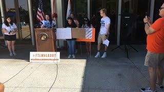 Digital Update: Students Speak Out On #NationalWalkoutDay at #FTLWalkout