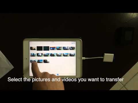 SJ4000 Photos and Videos Importing to iPad (no WiFi)