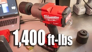 New Milwaukee M18 High Torque Impact Wrench - Model 2767