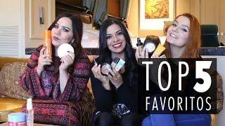 TOP 5 FAVORITOS com BRUNA TAVARES e NAYARA RATTACASSO