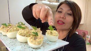 HUEVOS RELLENOS ESPECIALES/ Silvana Cocina ❤