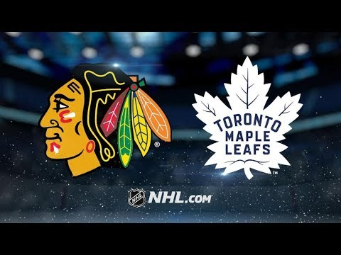 Chicago Blackhawks Vs. Toronto Maple Leafs | NHL Game Recap | October 9, 2017 | HD