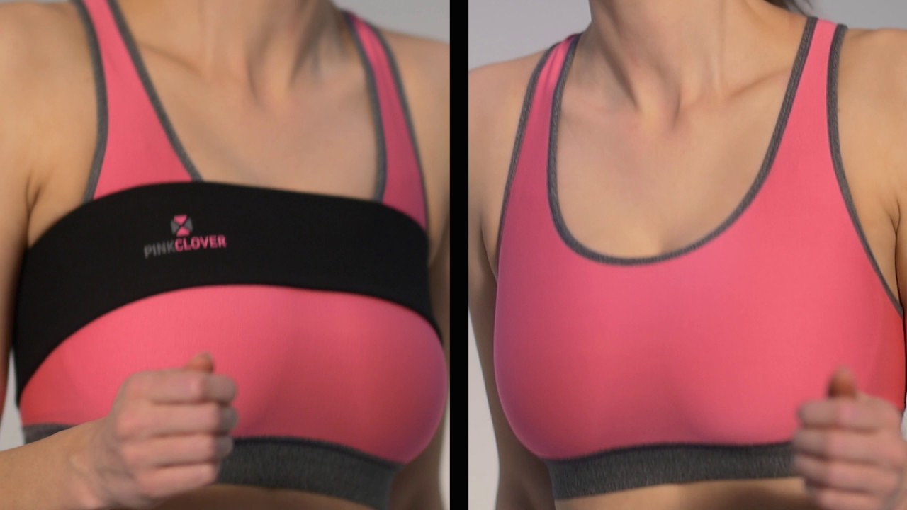 4301692efd7 PINK CLOVER BREASTBAND IN ACTION - YouTube