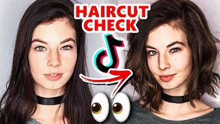 TikTok Girls: LONG HAIR vs SHORT HAIR CHECK ✂️💇‍♀️👀