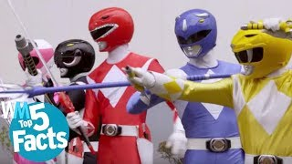 Top 5 Facts About the Power Rangers