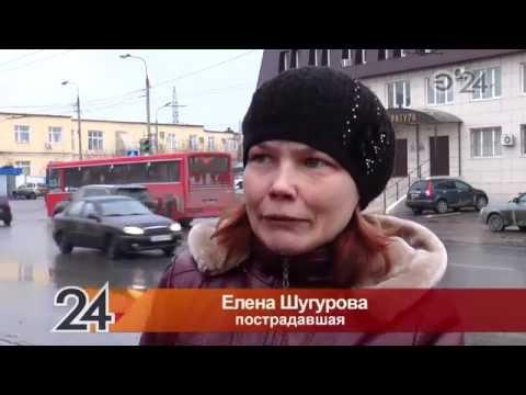 В Казани водители автобусов устраивают гонки
