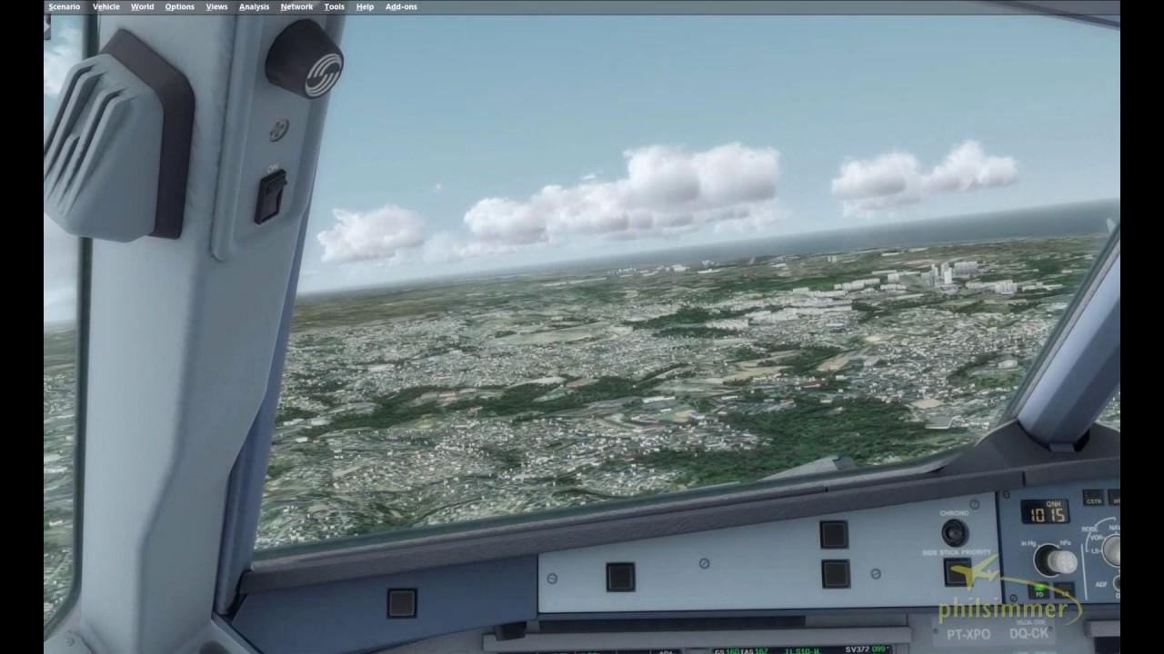 Prepar3D v3.4 Salvador (SBSV) Approach