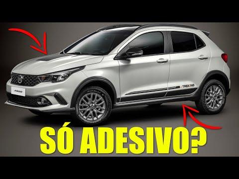 ARGO TREKKING é SÓ ADESIVO? / Teste completo do FIAT de R$ 60 mil