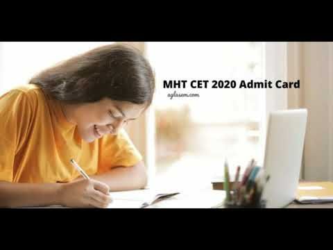 How to download MHT CET 2020 Admit Card | mhtcet2020.mahaonline.gov.in | Steps with & without Login