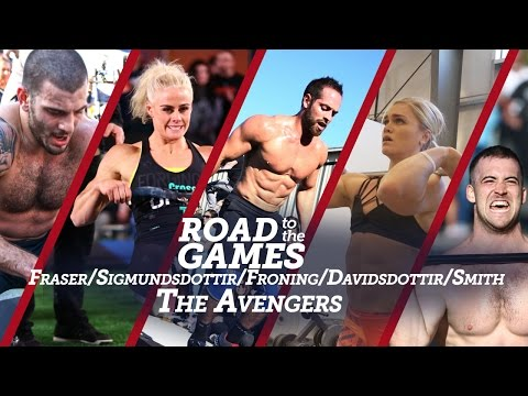 Road to the Games 16.04: Fraser / Sigmundsdottir / Froning / Davidsdottir / Smith