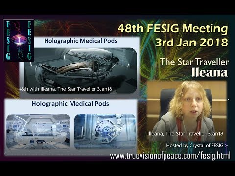 FESIG 48th with Illeana, The Star Traveller 3Jan18