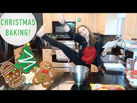 Bake Christmas Cookies With Me! + Cleaning Up... Christmas Eve Cook With Me!