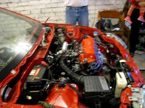 honda civic 92 95 eg5 d16z6 engine first start after rebuild youtube 92 Honda Civic Shift Solenoid