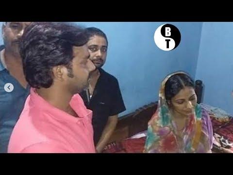 मलय सिंह के हत्या के समक्ष में उनके परिवार  मिलने पहुंचे पवन सिंह ने उनके लिए क्या किया -Bjp news