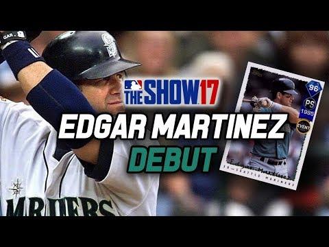 96 Edgar Martinez Debut! Mariners Epic Reward! | MLB The Show 17 Diamond Dynasty Ranked Seasons