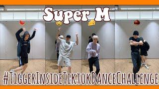 SuperM - Tiger Inside Tiktok Dance Challenge