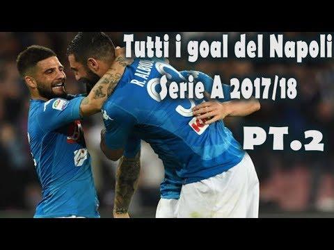 Goal e azioni del Napoli serie A 2017/18 (girone di ritorno)