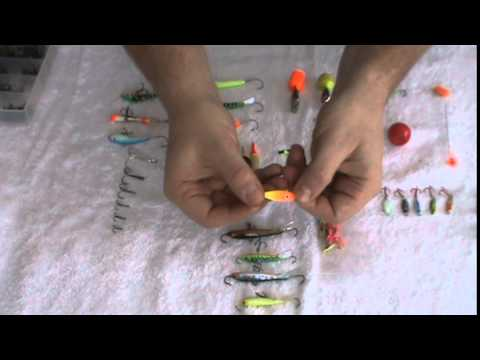 Best Ice fishing Jigs for Panfish and Walleye 2015